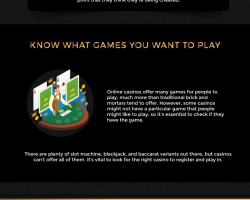 How to Choose the Right Online Casino to Play Casino Game